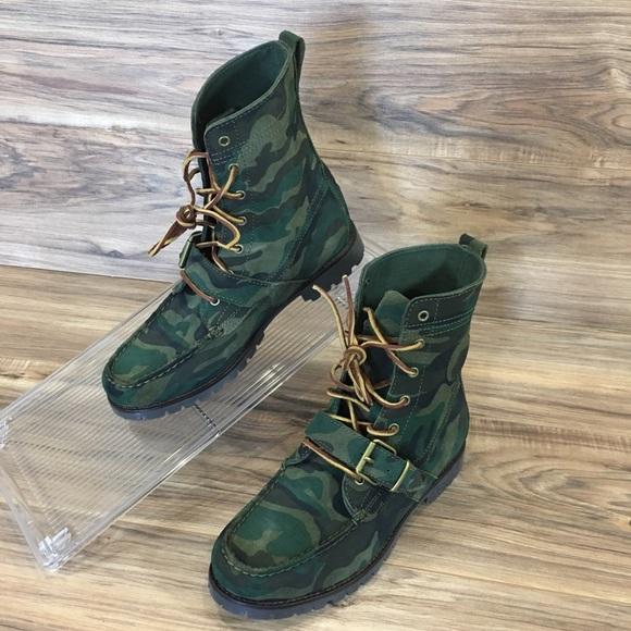 48d9d4135ce08 Polo by Ralph Lauren Shoes | Polo Ralph Lauren Ranger Camo Leather ...